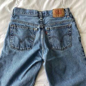 Levi's 550 Jeans (Husky/Crop)